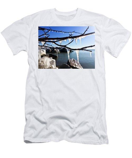 Shark Teeth Men's T-Shirt (Athletic Fit)