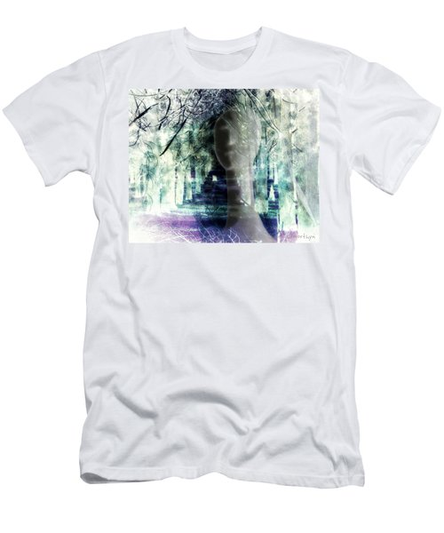 She Thought She's Never Be Alone Again Men's T-Shirt (Athletic Fit)
