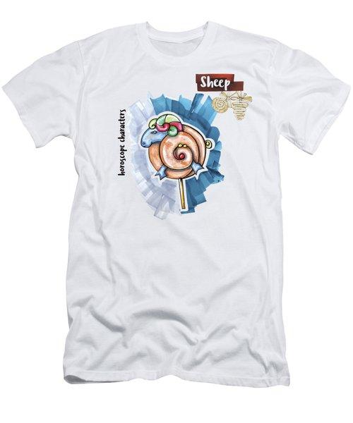 Sheep Horoscope Men's T-Shirt (Athletic Fit)