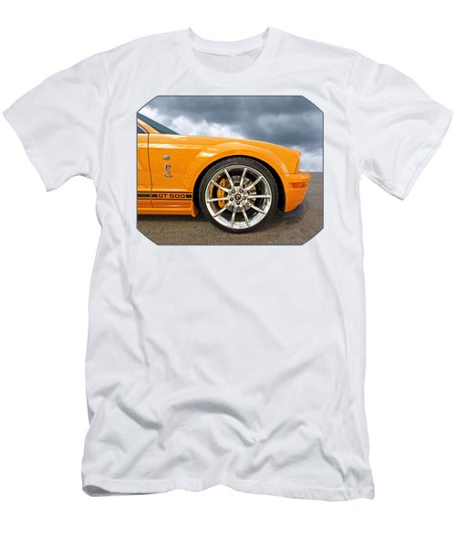 Shelby Gt500 Wheel Men's T-Shirt (Athletic Fit)