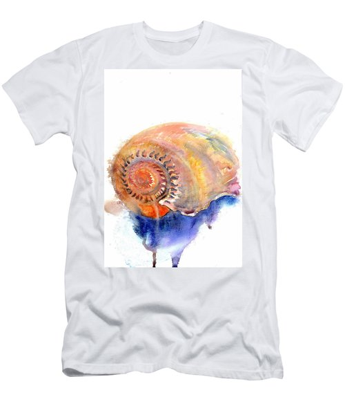 Men's T-Shirt (Athletic Fit) featuring the painting Shell Nose by Ashley Kujan