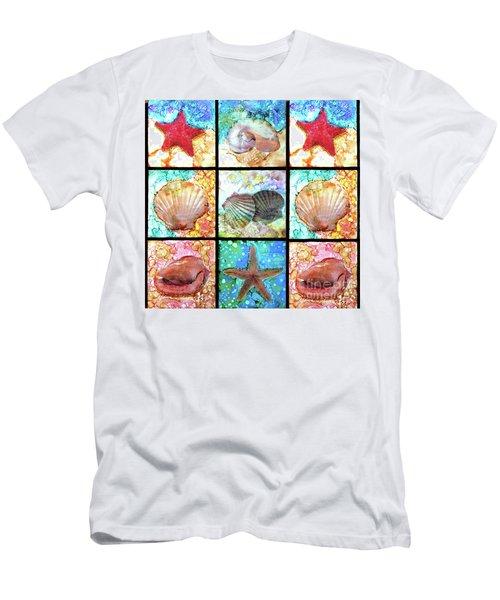Shells X 9 Men's T-Shirt (Athletic Fit)