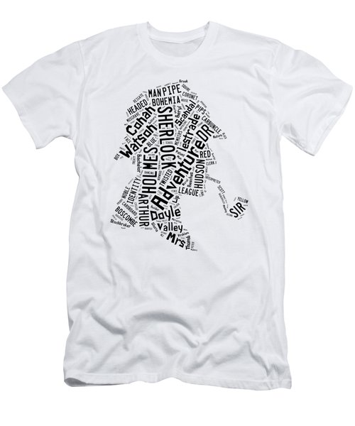 The Great Detective Word Cloud Men's T-Shirt (Athletic Fit)