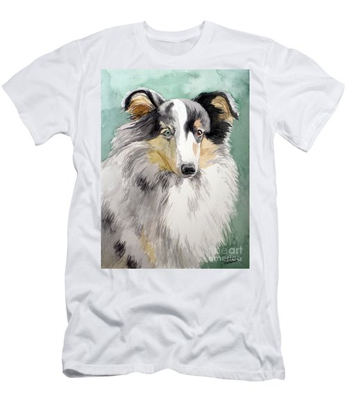 Shetland Sheep Dog Men's T-Shirt (Athletic Fit)