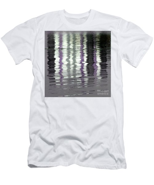 Men's T-Shirt (Athletic Fit) featuring the photograph Shimmer by Wendy Wilton