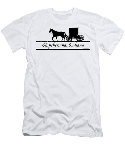 Shipshewana T-shirt Design Men's T-Shirt (Athletic Fit)