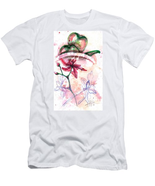 Shiraz Orchid II Men's T-Shirt (Athletic Fit)