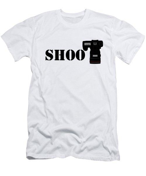 Shoot Men's T-Shirt (Slim Fit) by Roger Lighterness