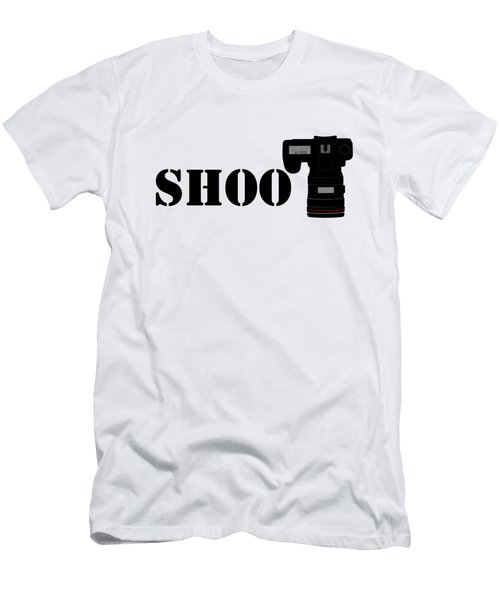 Shoot Men's T-Shirt (Athletic Fit)