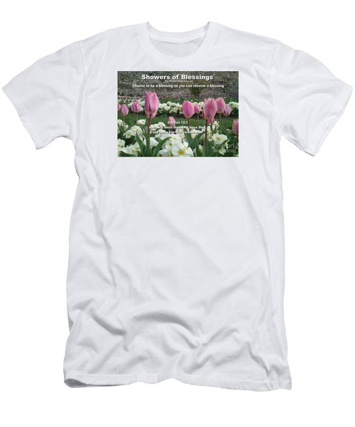 Showers Of Blessings Men's T-Shirt (Athletic Fit)