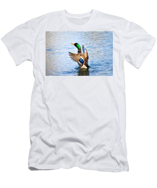 Showing Off Men's T-Shirt (Athletic Fit)