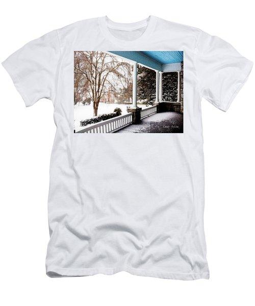 Side Porch Men's T-Shirt (Athletic Fit)