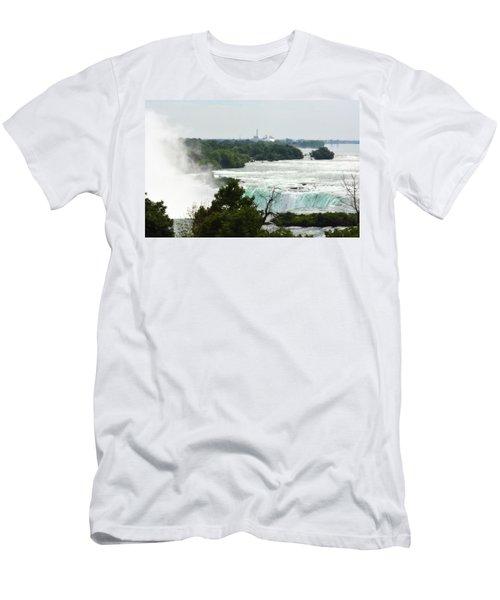 Sideview Mist Men's T-Shirt (Athletic Fit)
