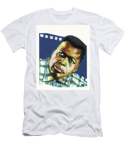 Sidney Poitier Men's T-Shirt (Athletic Fit)