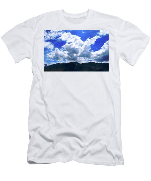 Sierra Nevada Cloudscape Men's T-Shirt (Slim Fit) by Matt Harang