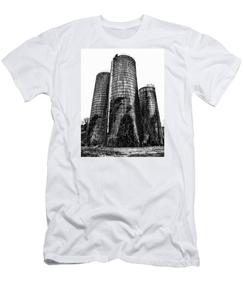 Silos Men's T-Shirt (Slim Fit) by Tamera James