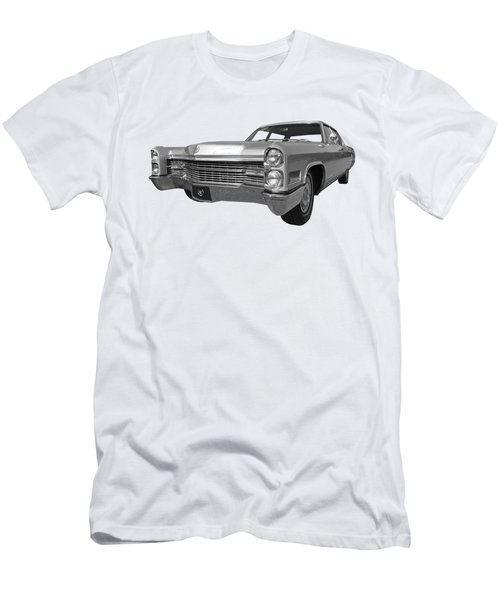 Silver Cadillac 1966 Men's T-Shirt (Athletic Fit)