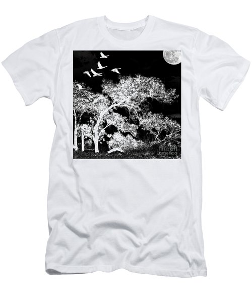 Silver Nights Men's T-Shirt (Athletic Fit)