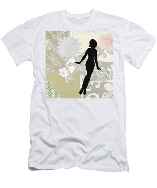 Silver Paper Doll Men's T-Shirt (Athletic Fit)