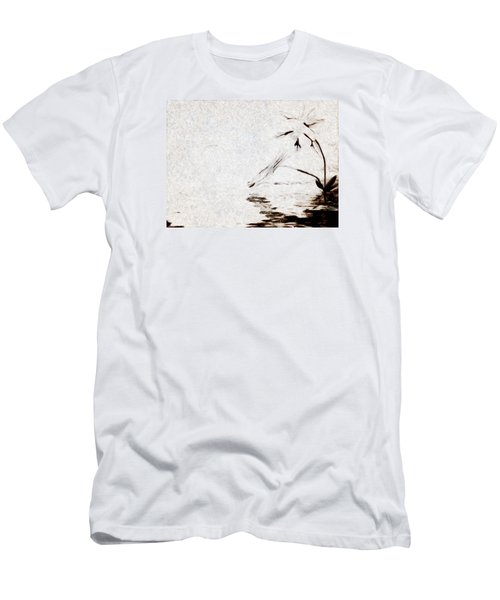 Simple Reflections Men's T-Shirt (Slim Fit) by Mario Carini