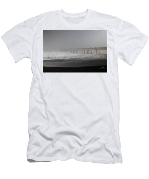 Men's T-Shirt (Slim Fit) featuring the photograph Since You Left  by Laurie Search