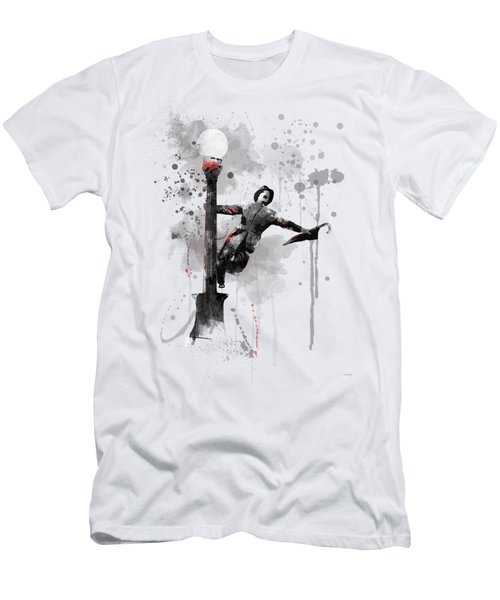 Singing In The Rain Men's T-Shirt (Athletic Fit)