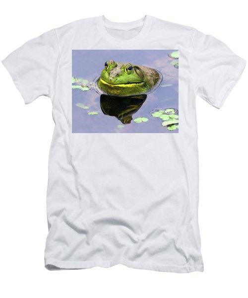 Sir Bull Frog Men's T-Shirt (Athletic Fit)