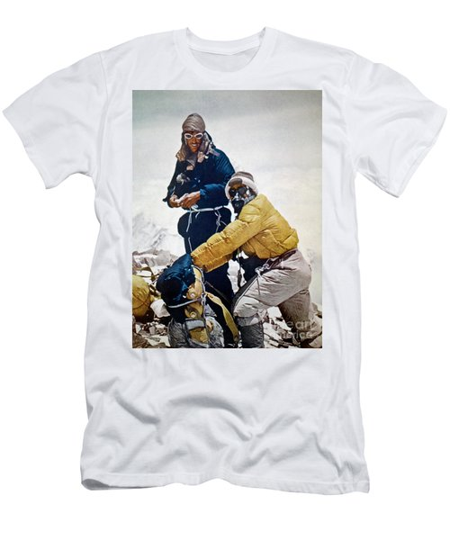 Sir Edmund Hillary Men's T-Shirt (Athletic Fit)