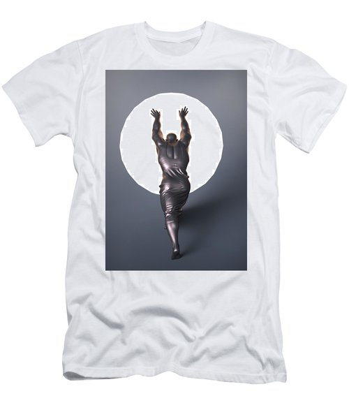 Sisyphus Lamp Men's T-Shirt (Athletic Fit)