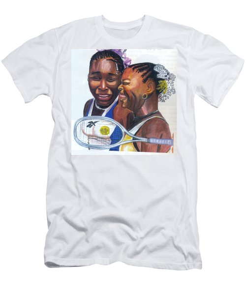 Sisters Williams Men's T-Shirt (Slim Fit) by Emmanuel Baliyanga