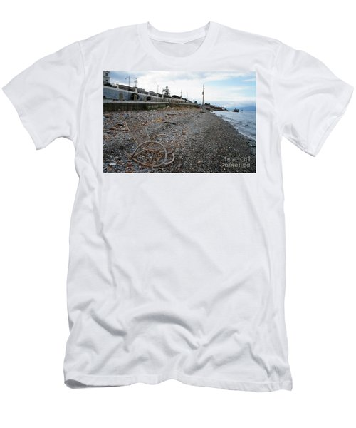 Sit Back And Enjoy The Sea Men's T-Shirt (Slim Fit) by Ana Mireles