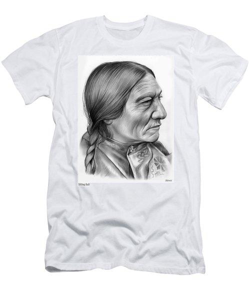 Sitting Bull Men's T-Shirt (Athletic Fit)