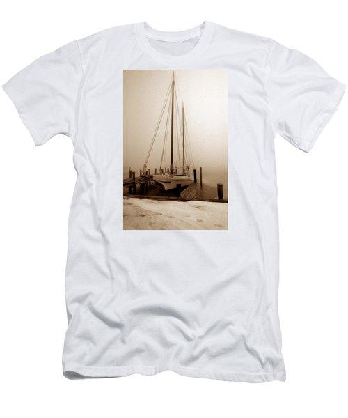 Skipjack Sepia Men's T-Shirt (Athletic Fit)