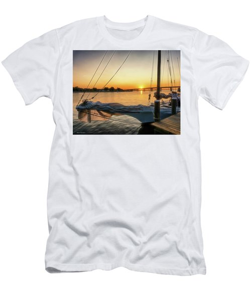 Skipjack Sunrise  Men's T-Shirt (Athletic Fit)