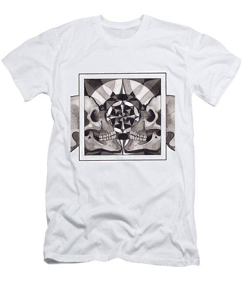 Skull Mandala Series Nr 1 Men's T-Shirt (Athletic Fit)