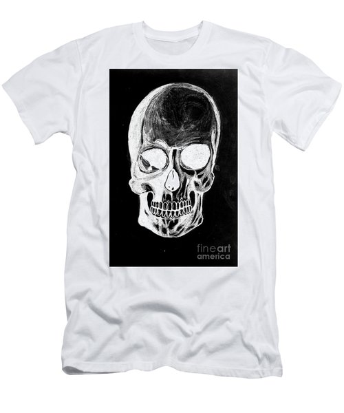 Skull Study 3 Men's T-Shirt (Athletic Fit)