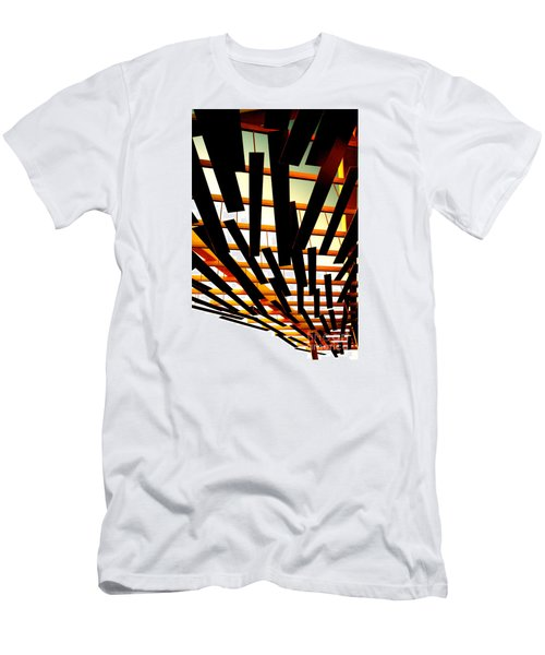 Men's T-Shirt (Slim Fit) featuring the photograph Sky Chasm by Cathy Dee Janes
