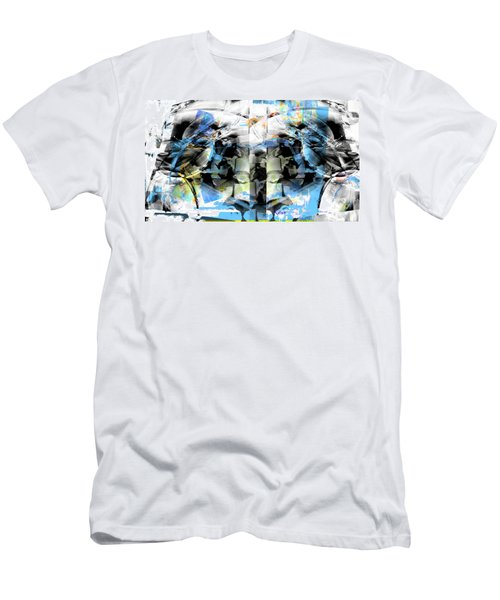 Sky In Clouds  Men's T-Shirt (Athletic Fit)
