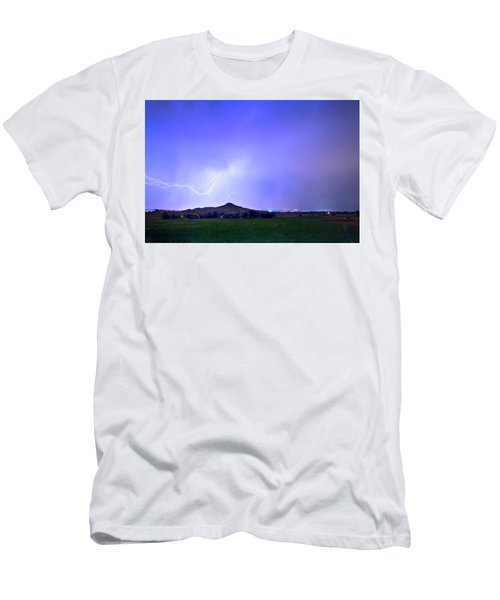 Men's T-Shirt (Slim Fit) featuring the photograph Sky Monster Above Haystack Mountain by James BO Insogna