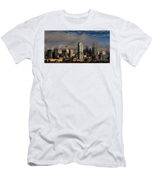 Skyline Fog Men's T-Shirt (Athletic Fit)