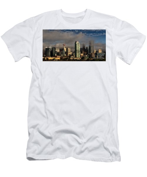 Skyline Fog Men's T-Shirt (Athletic Fit)