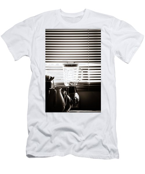 Slatted Shadows Men's T-Shirt (Athletic Fit)