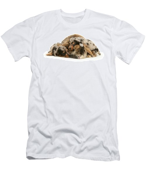 Sleep In Camouflage Men's T-Shirt (Athletic Fit)