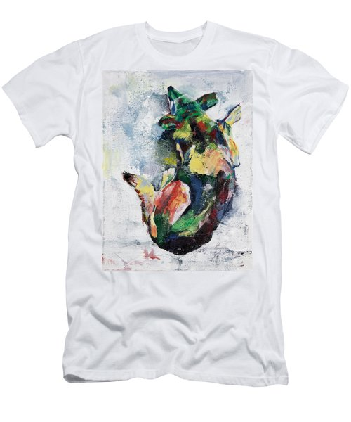 Sleeping Dog Men's T-Shirt (Athletic Fit)