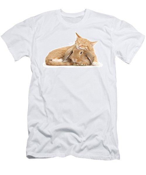 Sleeping On Bun Men's T-Shirt (Athletic Fit)