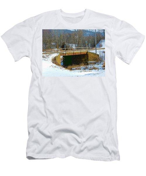 Sliding Into Home Men's T-Shirt (Athletic Fit)