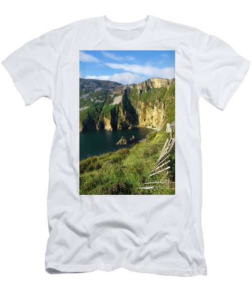 Men's T-Shirt (Slim Fit) featuring the photograph Slieve League Cliffs Eastern End by RicardMN Photography