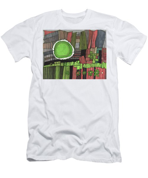 Sun Gone Green Men's T-Shirt (Athletic Fit)