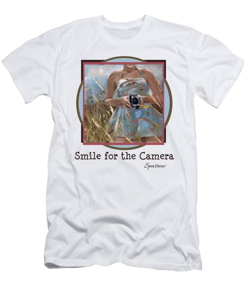 Smile For The Camer Men's T-Shirt (Athletic Fit)