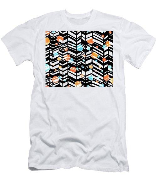 Smile More Men's T-Shirt (Athletic Fit)